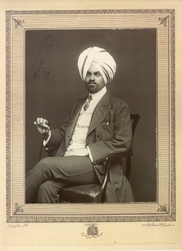 His Royal Highness the Rajah Jagatjit Singh of Kapurthala